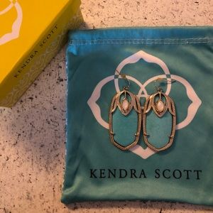 Vintage Darby Kendra Scott Blue Earrings